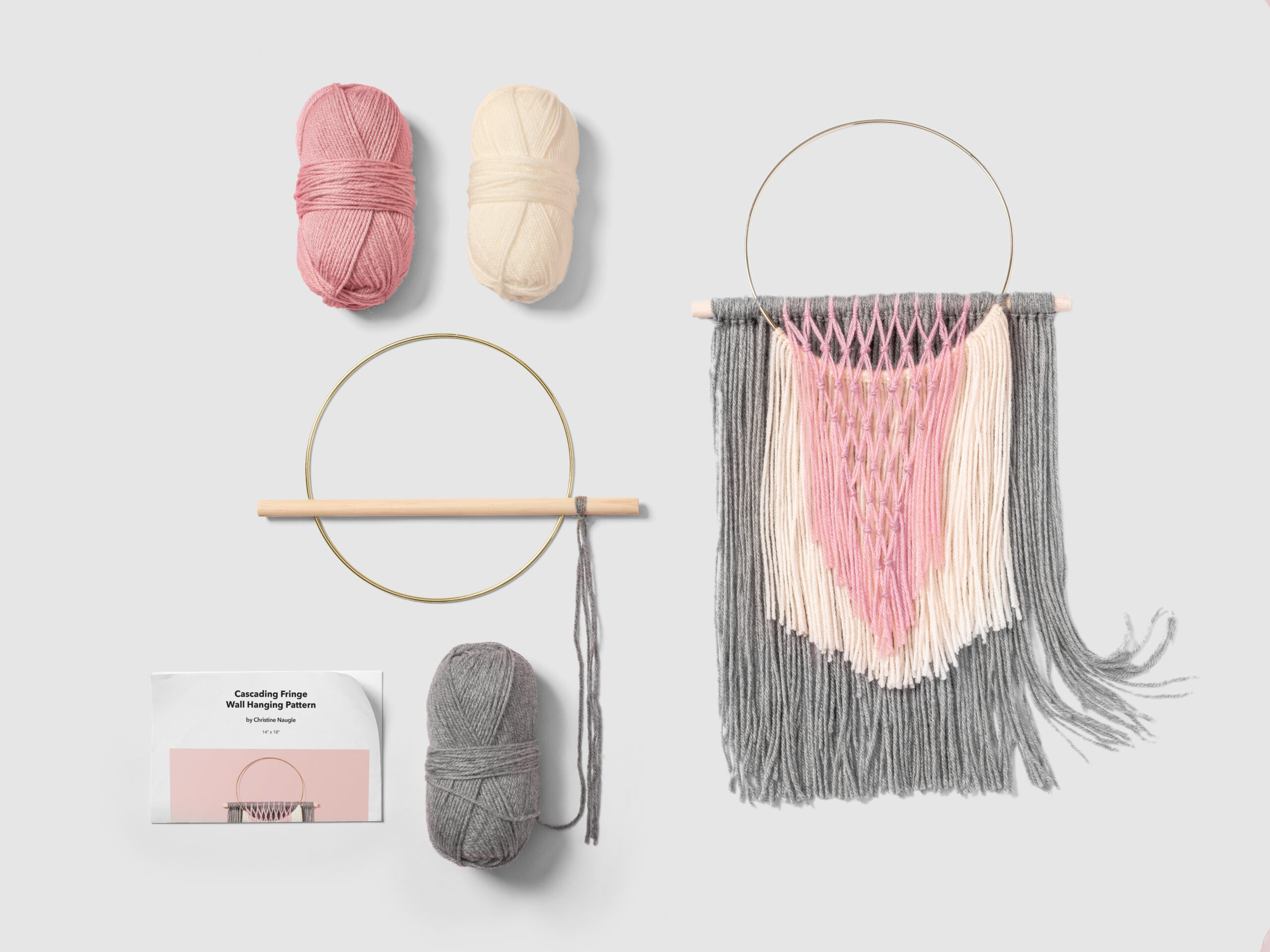 You are currently viewing Cascading Fringe Wall Hanging Tutorial & Kit