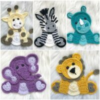 Zoo Animals Crochet Pattern - by Nella's Cottage
