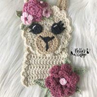 Llama Applique Crochet Pattern - by Nella's Cottage