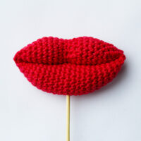 Crochet lips and kisses pattern by Wilmade