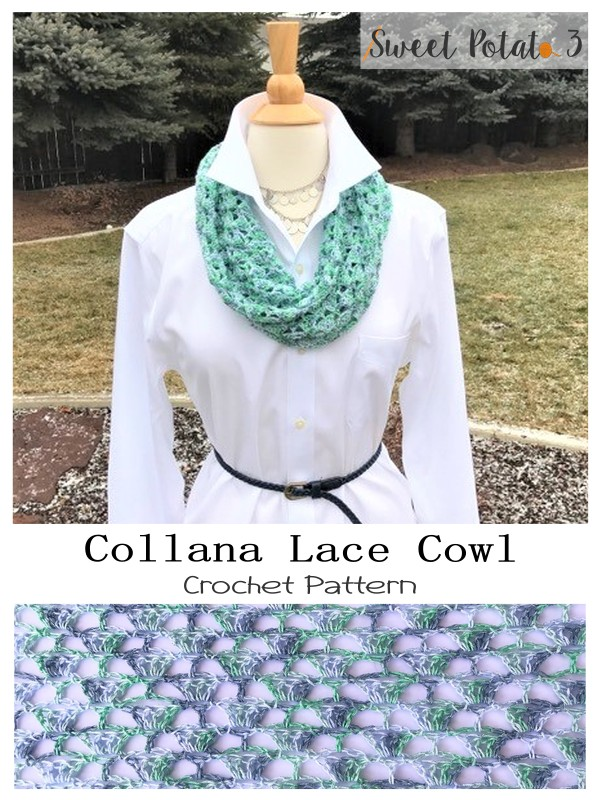 Collana Lace Cowl Long Option
