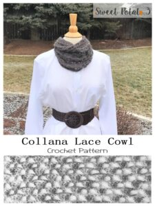 Collana Lace Cowl – Crochet Pattern