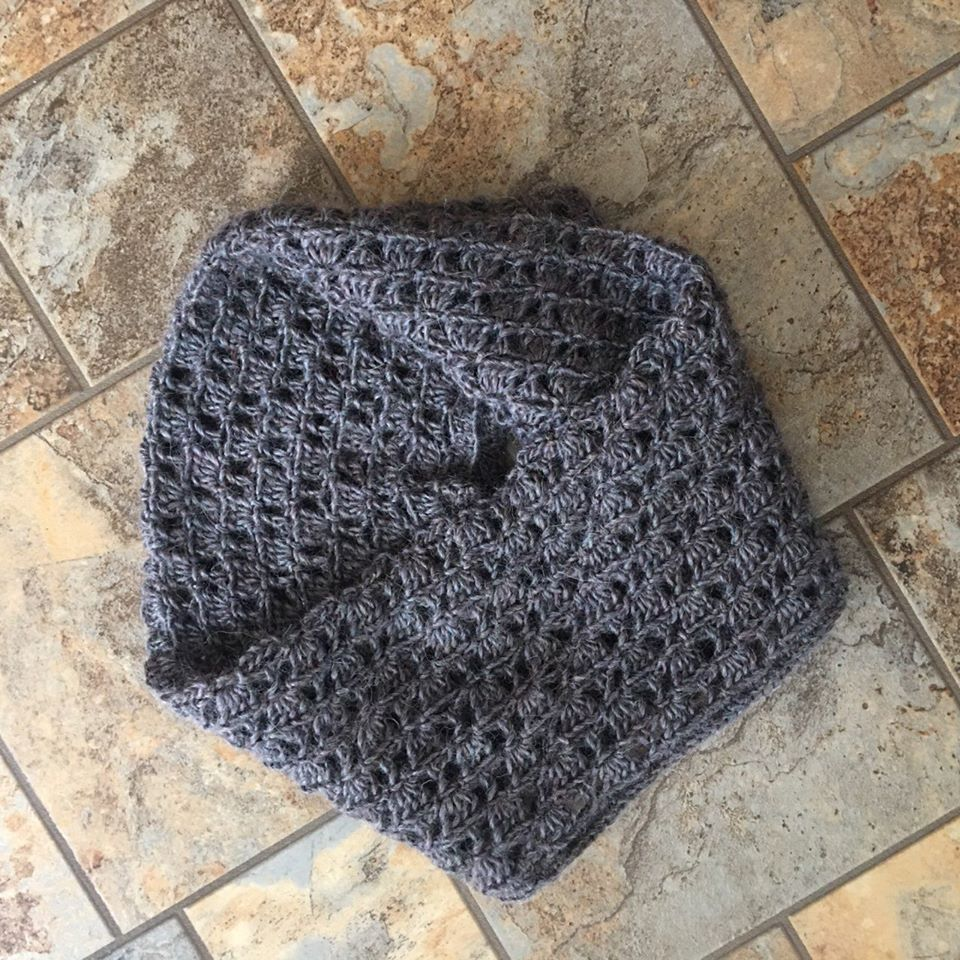 Collana Lace Cowl Crochet Pattern