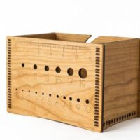 Wooden Yarn Box / Multipurpose Box by Ideas In Wood