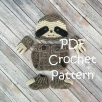 Baby Sloth Outfit by Baby Baum Boutique