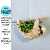 Sloth Mini Succulent Planter by HELLO Happy