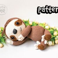 Sam the Sloth by Cutie Me Store