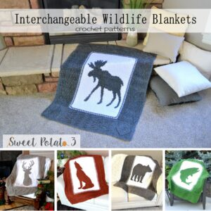 Interchangeable Wildlife Blankets