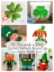 St. Patrick's Day Crochet Pattern Round