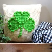 Shamrock Pillow- by Seacliffe Cottage