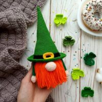 St. Patrick's Day Gnome - by Plyushki Toys Patterns