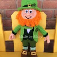Lucky the Leprechaun - by Made by Mary