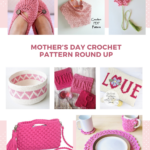 Mother's Day Pretty in Pink Crochet Pattern Round Up