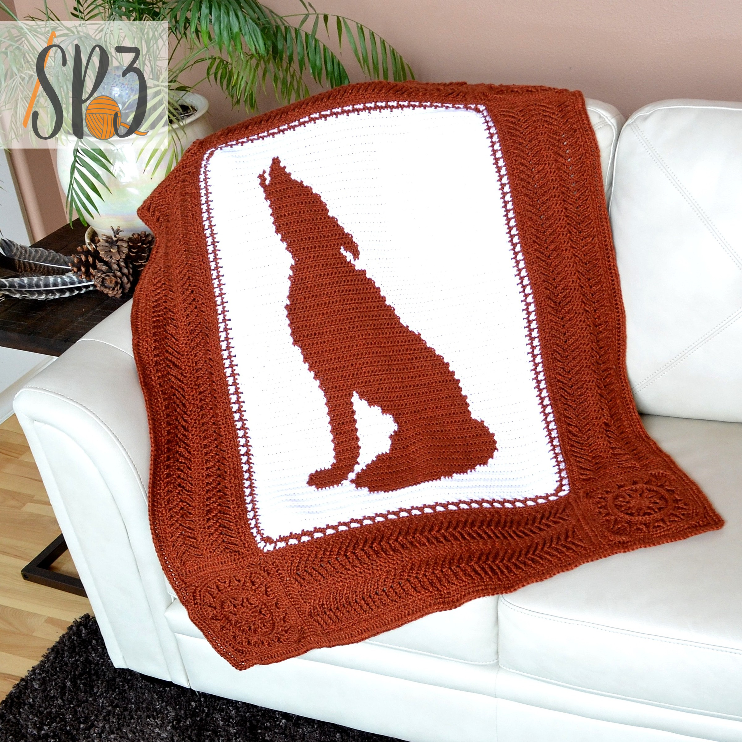 You are currently viewing Howling Wolf Blanket – Crochet Pattern