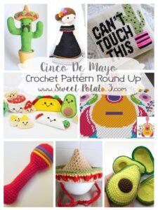 Cinco de Mayo Crochet Pattern Round Up
