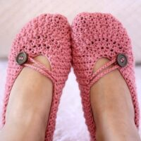 Pretty in Pink Ladies Slippers by Mon Petit Violon