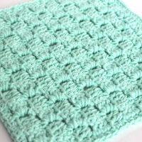 FREE Corner 2 Corner Dishcloth - by Amanda Crochets