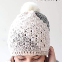 FREE Don't Be A Square Beanie - by Maria's Blue Crayon