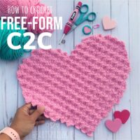 FREE Tutorial on C2C Free-Form - by Heart Sprinkle