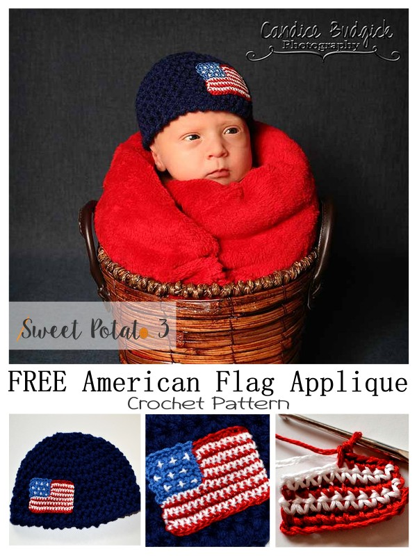 You are currently viewing Free American Flag Applique – Crochet Pattern