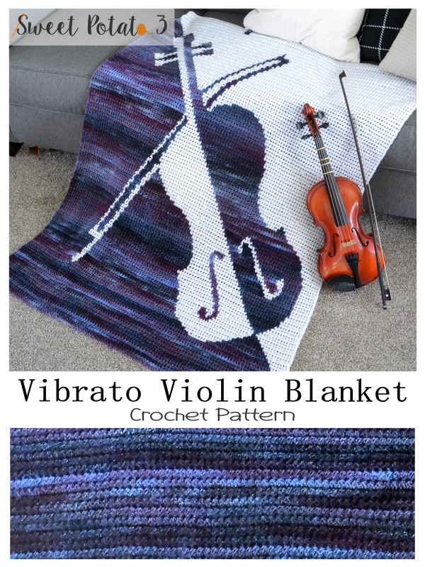 You are currently viewing Vibrato Violin Crochet Blanket Pattern