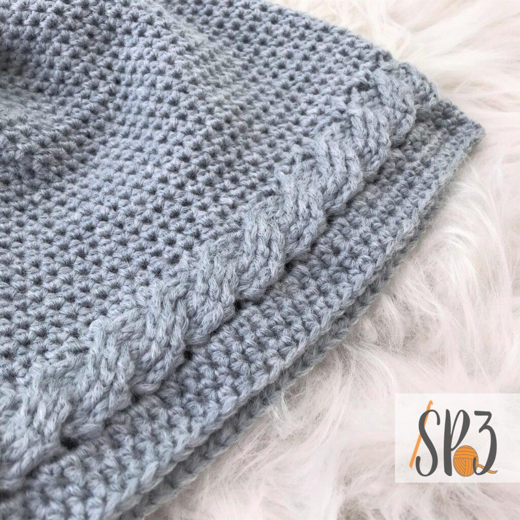 Cable Twist Hat Crochet Pattern