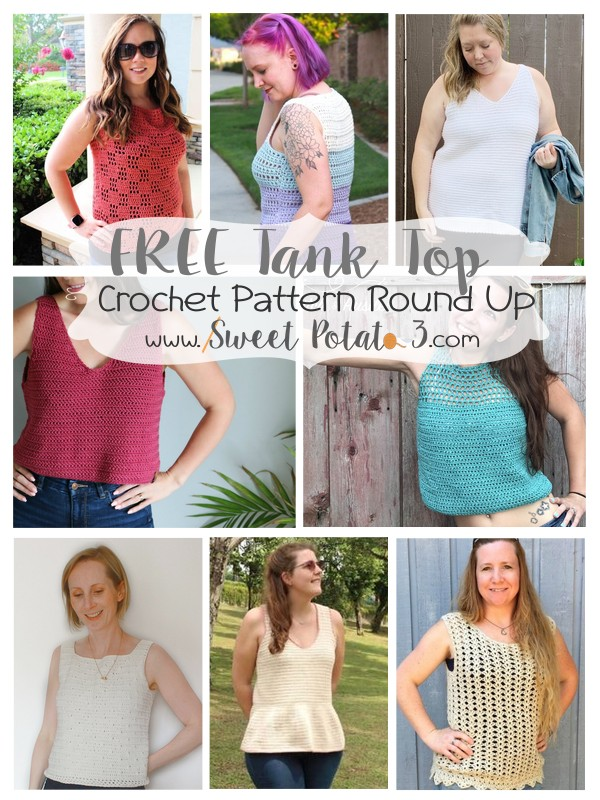 Tank Top Pattern Round Up