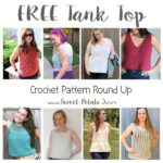 Free Summer Tank Top Crochet Pattern Round Up