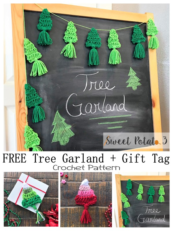Tree Garland + Gift Tag Pin Image