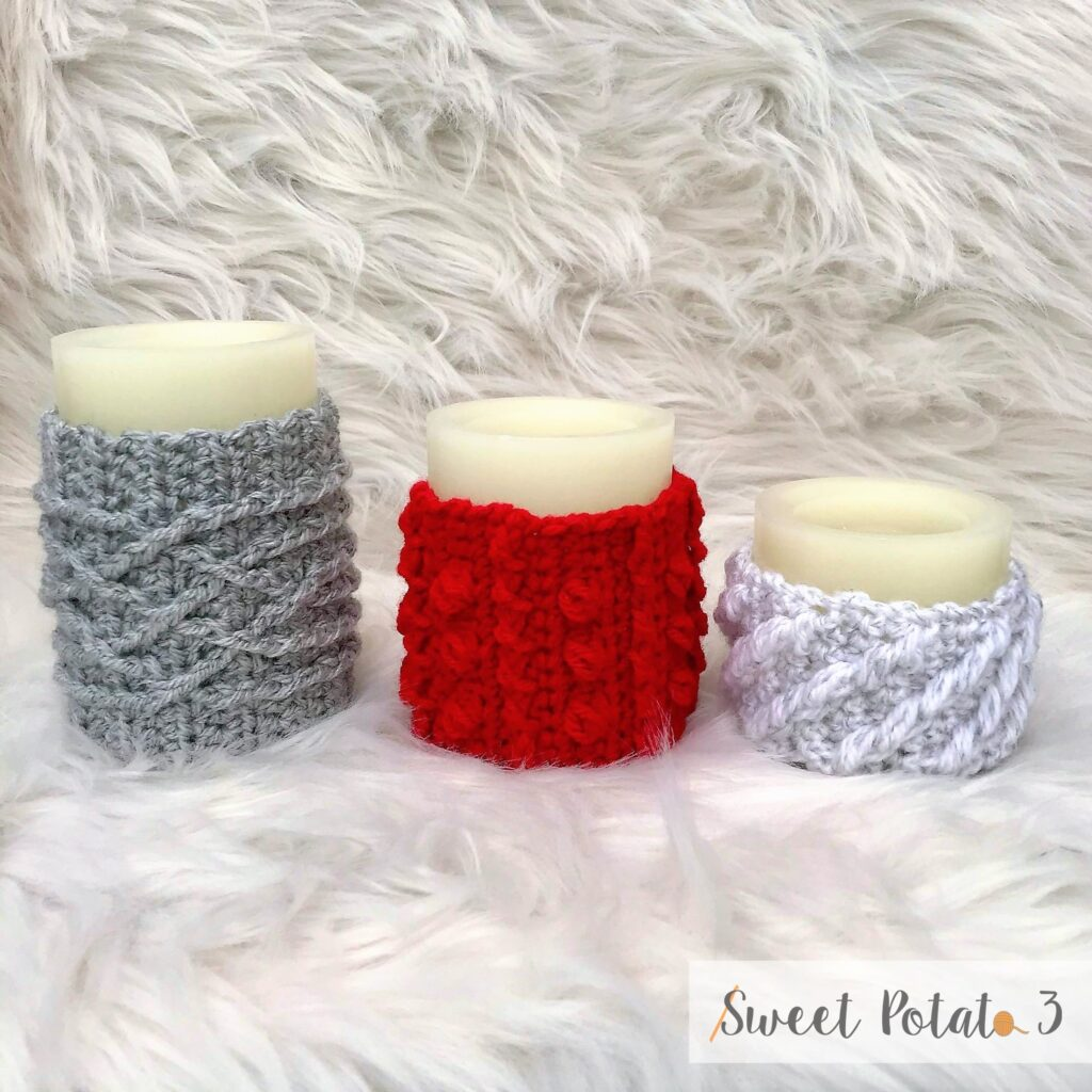 Cable Candle Wraps