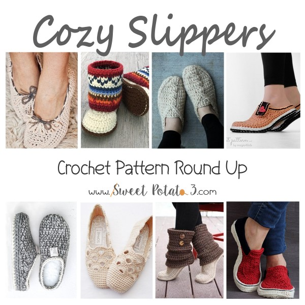 You are currently viewing Cozy Slippers Crochet Pattern Round Up