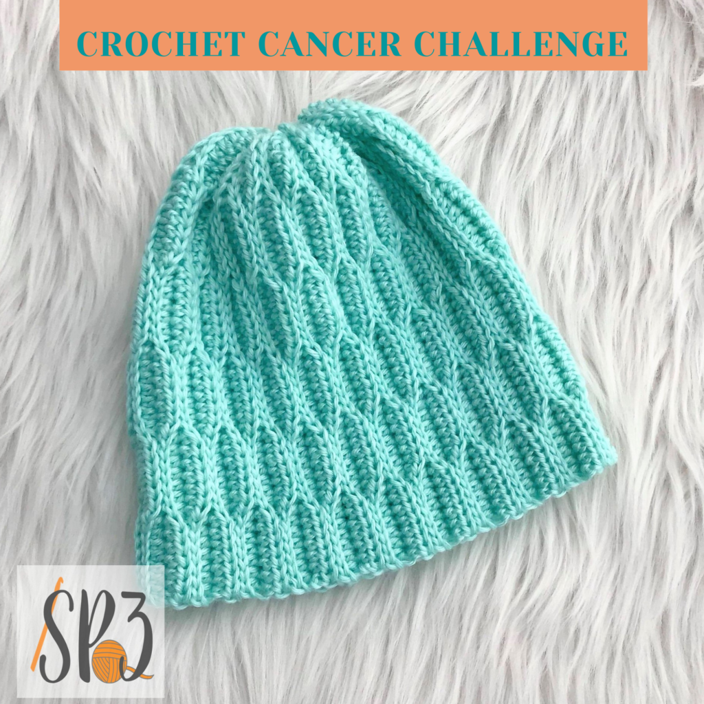 Waves of Hope Hat Crochet Cancer Challenge