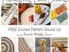 Free Thanksgiving Table Setting Patterns