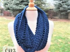 Lovely Ladders Cowl Crochet Pattern