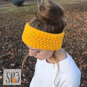Winter Wishes Ear Warmer – Crochet Pattern