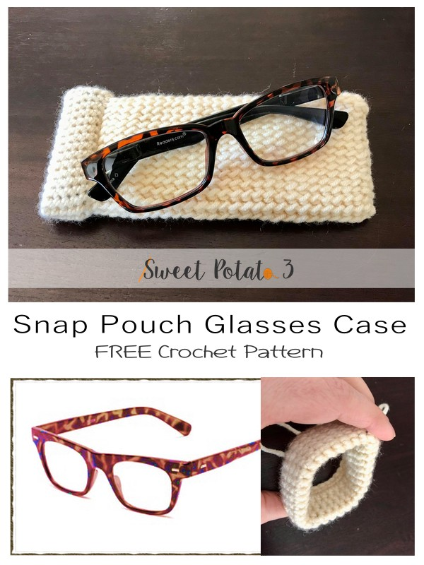 Snap Pouch Glasses Case Pattern