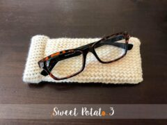 Snap Closure Glasses Case