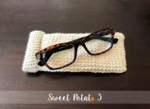 Snap Closure Glasses Case – Free Crochet Pattern