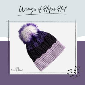 Wings of Hope Hat