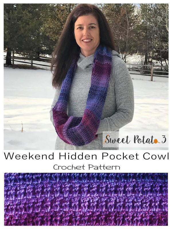 Weekend Hidden Pocket Cowl
