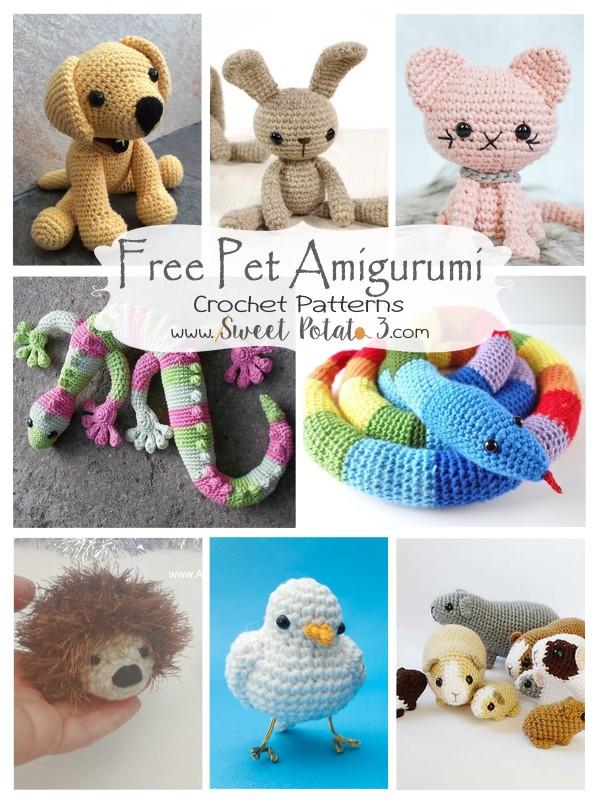 Free Pet Amigurumi Crochet Patterns