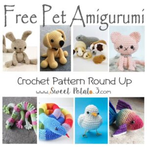 Free Pet Amigurumi Crochet Pattern Round Up