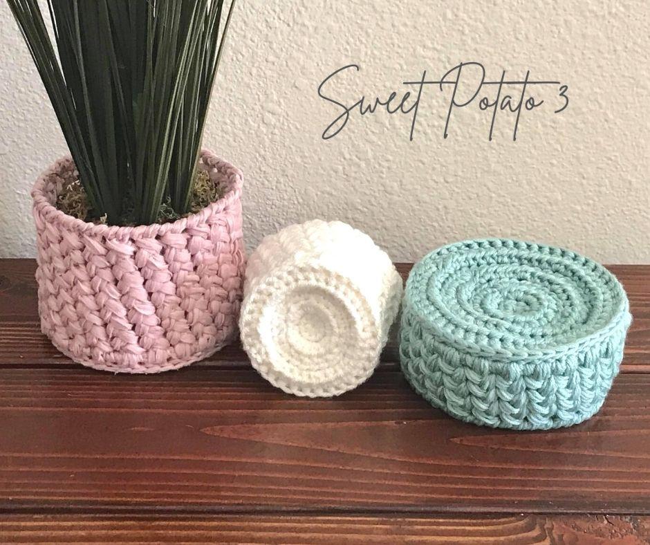 Woven basket bottom