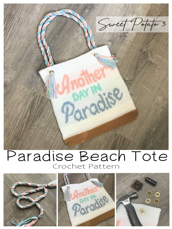 Paradise Beach Tote Crochet Pattern
