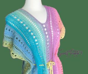 Summer Breeze Swim Cover Up Crochet Pattern