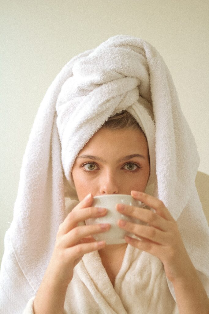 self care with coffee