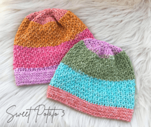 Read more about the article Colors of Courage Hat – Crochet Pattern