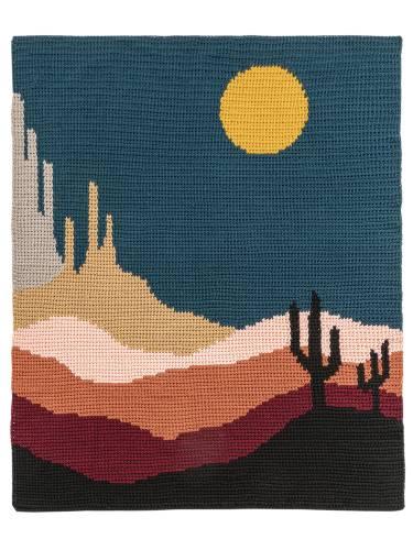 Desert Skies Landscape Blanket