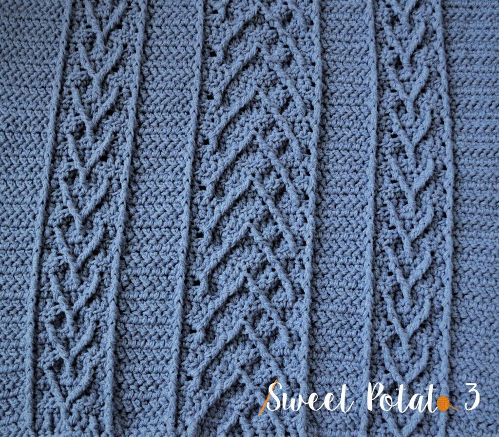Serenity Blanket Crochet Pattern