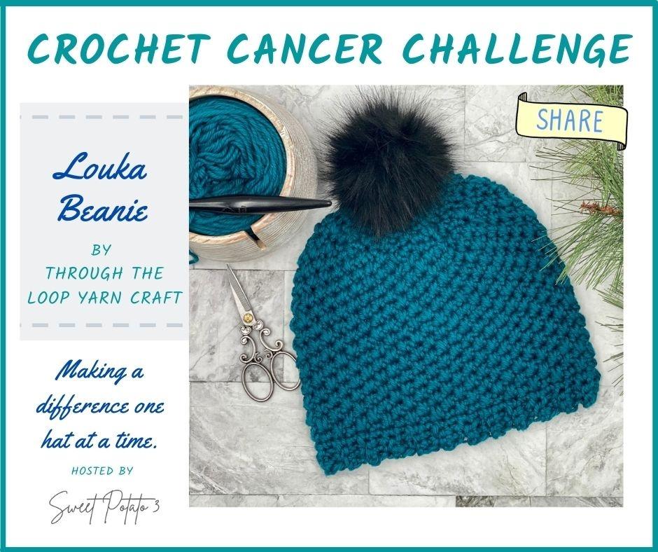 Louka Cancer Challenge Beanie